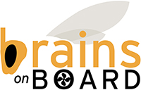 Brains on Board Retina Logo